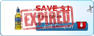 Save $1.00 off any Olivari