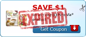 Save $1.00 on any one (1) Pure Via® product