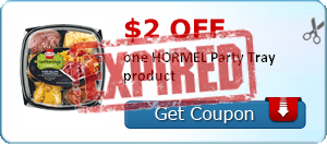 $2.00 off one HORMEL Party Tray product