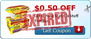 $0.50 off Old El Paso Stand N Stuff Tortillas