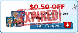 $0.50 off Progresso Recipe Starters Cooking Sauce