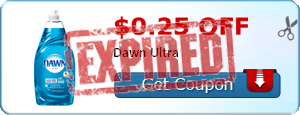 $0.25 off Dawn Ultra