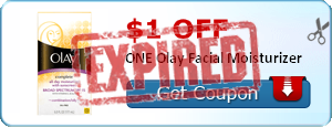 $1.00 off ONE Olay Facial Moisturizer