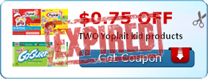 $0.75 off TWO Yoplait kid products