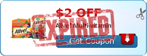 $2.00 off Alive! Multi-vitamin