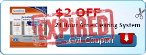 $2.00 off 24 Hour Acne Clearing System