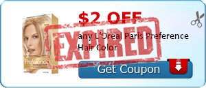 $2.00 off any L'Oreal Paris Preference Hair Color