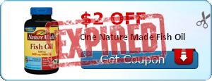 $2.00 off One Nature Made Fish Oil