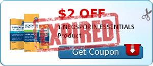 $2.00 off 1 NEOSPORIN ESSENTIALS Product