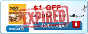 $1.00 off any (1) ZonePerfect multipack