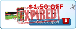 $1.50 off Any New Robitussin