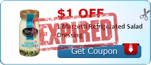 $1.00 off 1 Marzetti Refrigerated Salad Dressing
