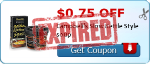 $0.75 off Campbell's Slow Kettle Style soup
