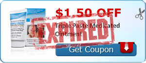 $1.50 off Triple Paste Medicated Ointment