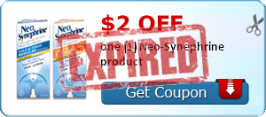 $2.00 off one (1) Neo-Synephrine product
