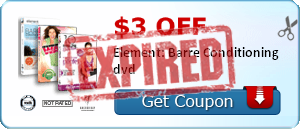 $3.00 off Element: Barre Conditioning dvd