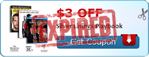 $3.00 off Silver Linings Playbook