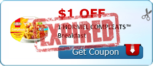 $1.00 off 1 HORMEL COMPLEATS™ Breakfast