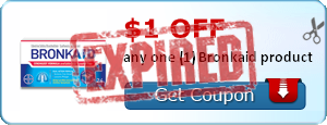 $1.00 off any one (1) Bronkaid product
