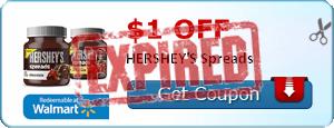 $1.00 off HERSHEY'S Spreads