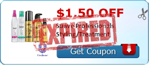 $1.50 off Suave Professionals Styling/Treatment