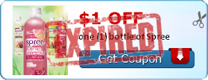 $1.00 off one (1) bottle of Spree