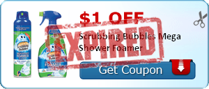 $1.00 off Scrubbing Bubbles Mega Shower Foamer
