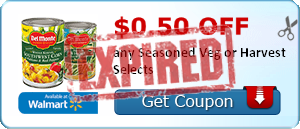 $0.50 off any Seasoned Veg or Harvest Selects