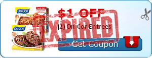 $1.00 off (2) On-Cor Entrees