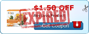 $1.50 off Any Luvo Product