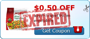 $0.50 off any Pictsweet frozen vegetables
