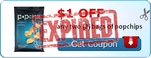 $1.00 off any two (2) bags of popchips