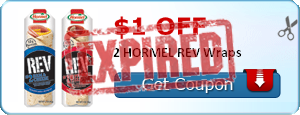 $1.00 off 2 HORMEL REV Wraps