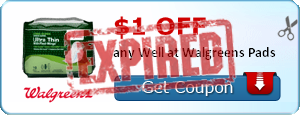 $1.00 off any Well at Walgreens Pads