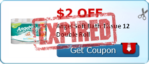 $2.00 off Angel Soft Bath Tissue 12 Double Roll
