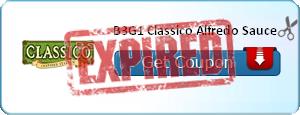 B3G1 Classico Alfredo Sauce