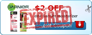 $2.00 off one Garnier moisturizer