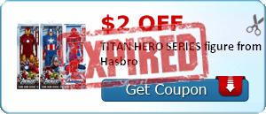 $2.00 off TITAN HERO SERIES figure from Hasbro