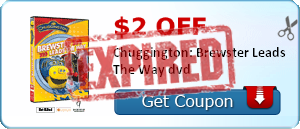 $2.00 off Chuggington: Brewster Leads The Way dvd