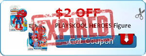 $2.00 off PLAYSKOOL HEROES Figure