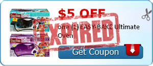 $5.00 off one (1) EASY-BAKE Ultimate Oven