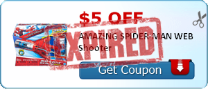 $5.00 off AMAZING SPIDER-MAN WEB Shooter