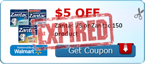 $5.00 off Zantac 75 or Zantac 150 product
