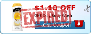 $1.10 off ONE Olay Body Wash