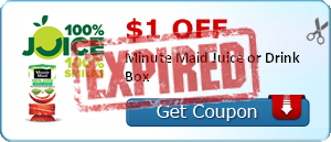 $1.00 off Minute Maid Juice or Drink Box