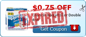 $0.75 off Charmin MegaRoll or Double Roll