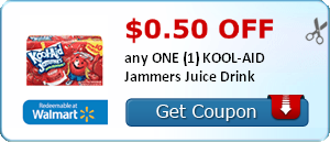 $0.50 off any ONE (1) KOOL-AID Jammers Juice Drink