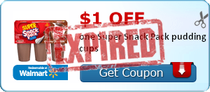 $1.00 off one Super Snack Pack pudding cups