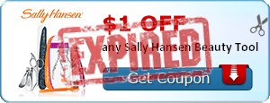 $1.00 off any Sally Hansen Beauty Tool