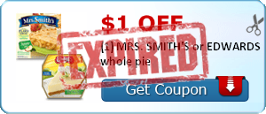 image relating to Smiths Coupons Printable named $1/1 Mrs. Smiths or Edwards Pie, $2/1 All Laundry Detergent